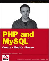 PHP MySQL Create Modify Reuse